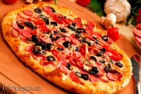 Московская пицца - фото