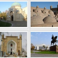 Uzbekistan Travel Art - фотография